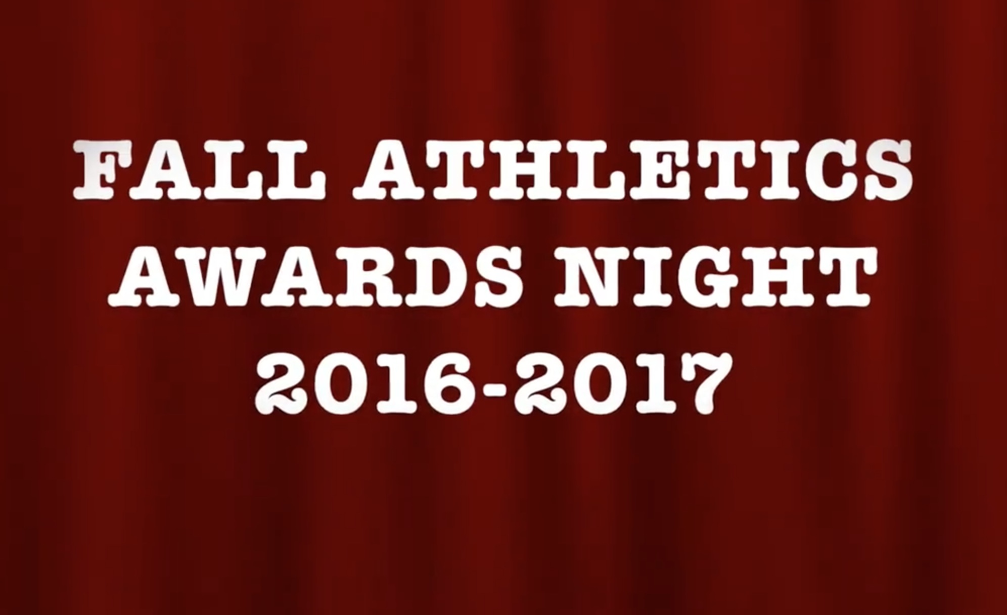 AthleticsAwards