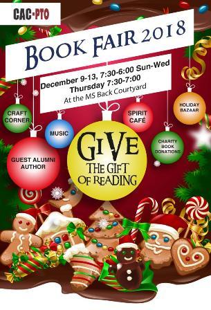 CAC Bookfair