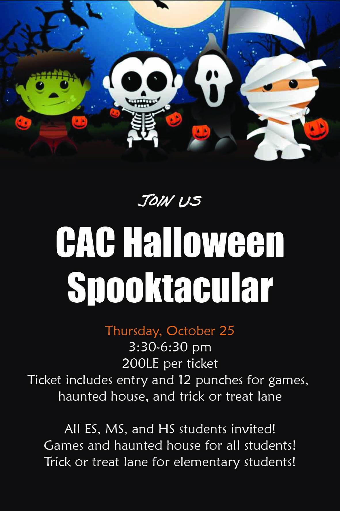 Halloween Carnival Poster