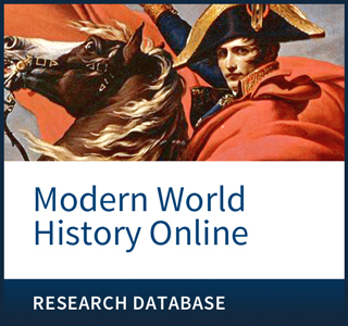 Modern World History Online offers a comprehensive look at world history from the mid-15th century to the present.