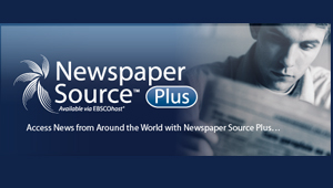 Newspaper Source: (EBSCO)  full text articles for more than 40 (U.S.) & international newspapers.