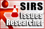 SIRS® Issues Researcher offers the best article selections from more than 2,000 international sources. Analysis and opinions cover the pros, cons, and everything in between of 345+ social, scientific, health, historic, economic, political, and global issues.