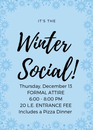 Winter Social 1