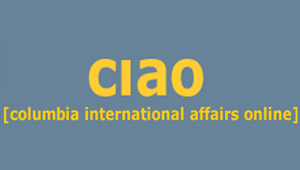 CIAO Columbia International Affairs On-line :   A source for theory and research in international affairs