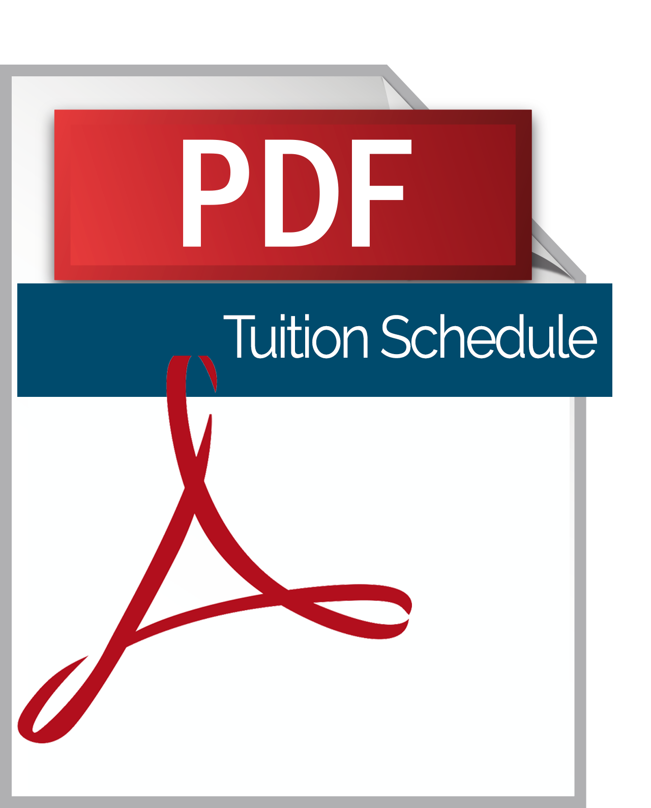 2017-2018 Tuition Schedule